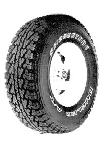 Bridgestone Dueler A/T with UNI-T